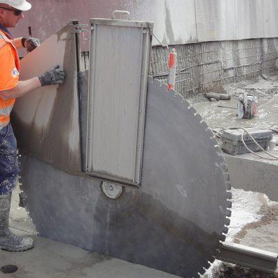 Где может применяться алмазная резка бетона?